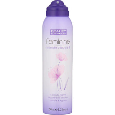 Beauty formulas deodorant intime 150ml