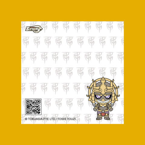 Character Baby Series Sticky Notepad - Lord Raksa