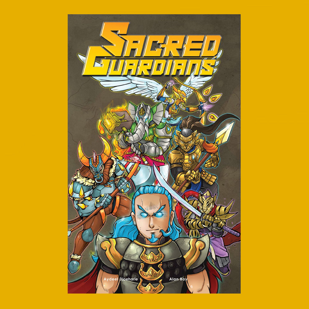 Sacred Guardians (100 pages and fully coloured!)