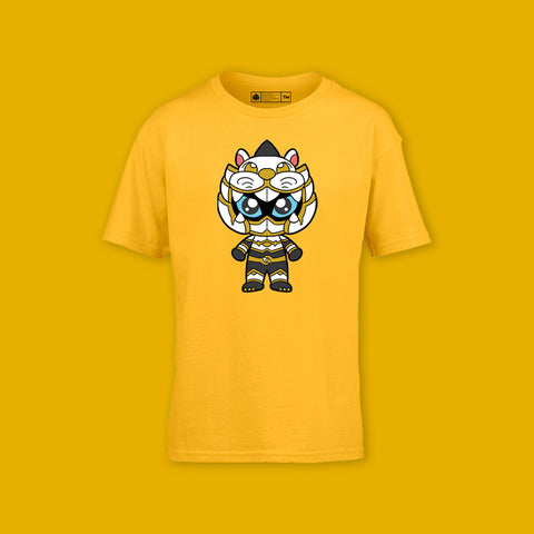 Lionboy Kids Tee Gold