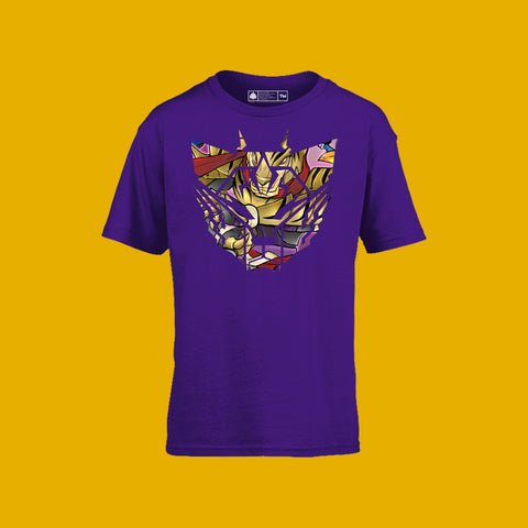 Sacred Guardian Arimao Kids Tee Purple