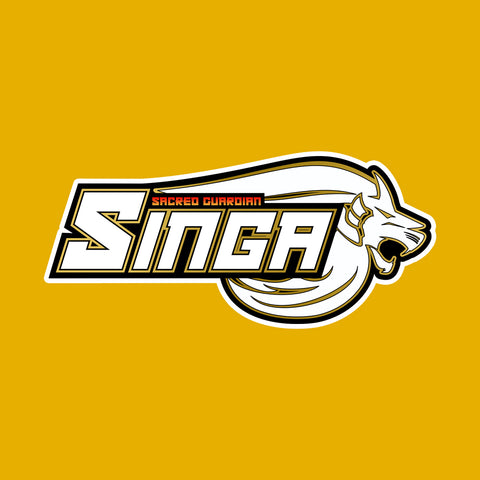 Singa Logo Sticker