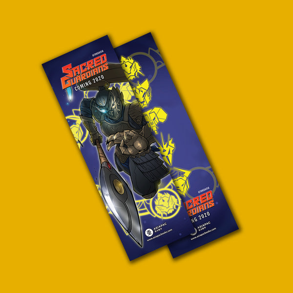 Sacred Guardians Bookmark
