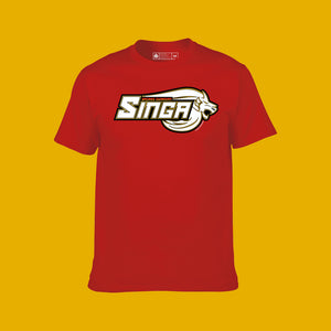 Singa Logo Tee Red