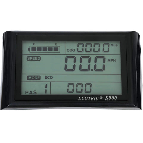 Ecotric Bison LCD
