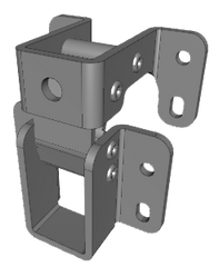 70-1-3520 Concealed Hinge - 90° opening available from FDB Panel Fittings