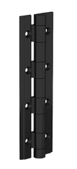 72-1-4317 Black anodised Aluminium Profile Hinge from FDB Panel Fittings - 0.90 N.m. - diameter 8