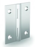 72-1-4298 Small FinAlu® Aluminium Hinges (38mm) from FDB Panel Fittings