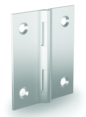 72-1-4299 Small FinAlu® Aluminium Hinges (50mm) from FDB Panel Fittings