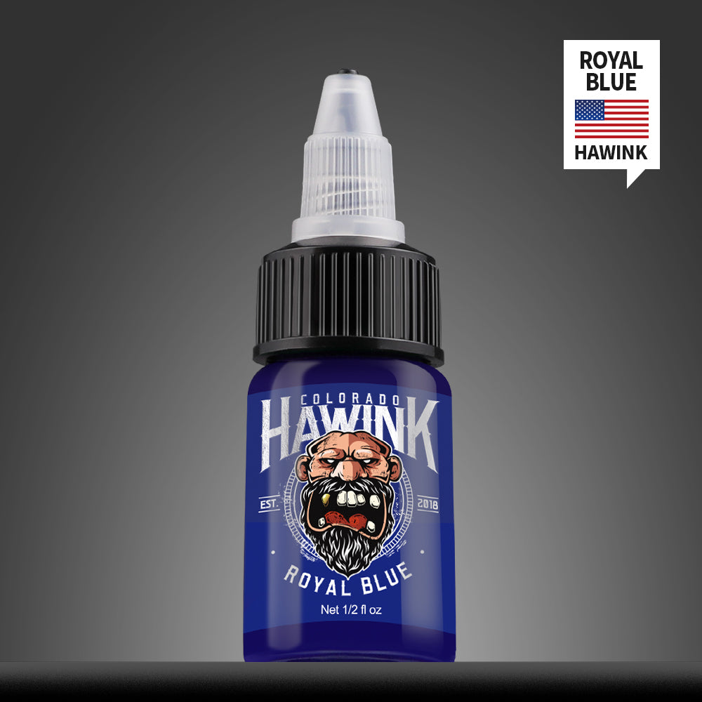 USA Hawink New Coming 7 Basic Colors Professional Tattoo Ink Set Pigment Kit 1/2 oz ( 15 ml) - Hawink