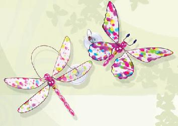 HIP HOP BUTTERFLY & DRAGONFLY WOBBLERS