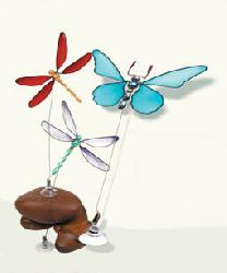 FANTASIA BUTTERFLY & DRAGONFLY WOBBLERS