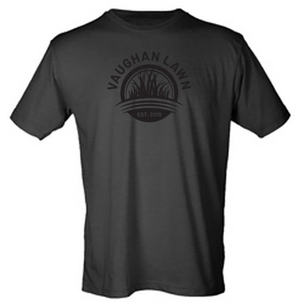 Vaughan Lawn Classic Tee (Heather Black with Black Ink)