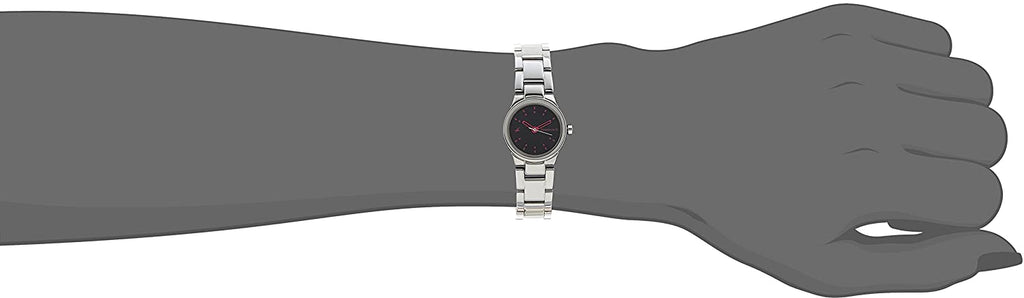 Fastrack Analog Black Dial Women's Watch -6114SM02