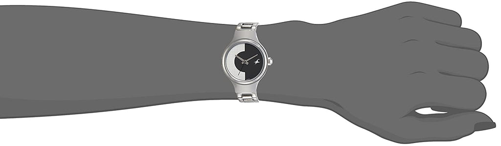 Fastrack Analog Black Dial Women's Watch-6134SM01