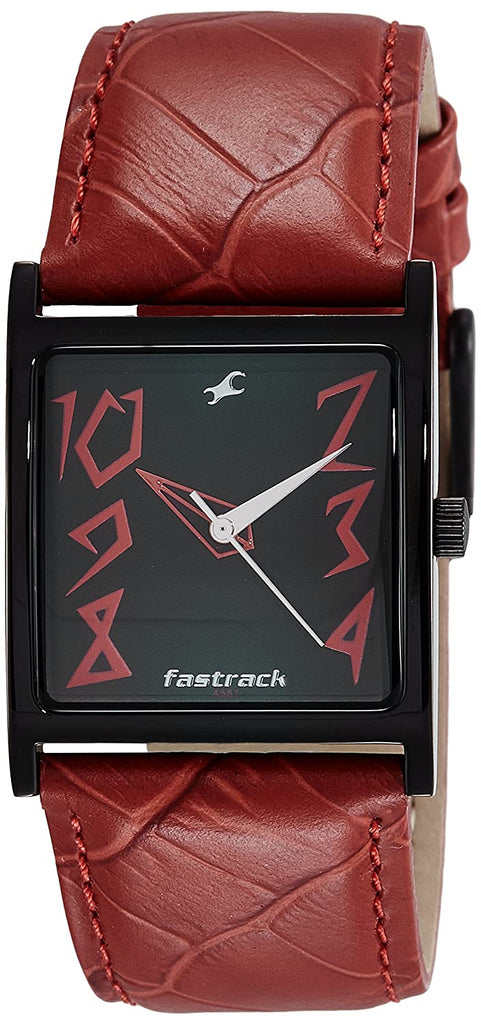 Fastrack Analog Black Dial Women's Watch-9735NL01