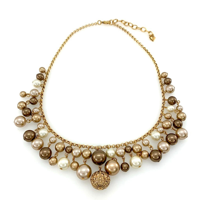 Collar de perlas marrones Carolee