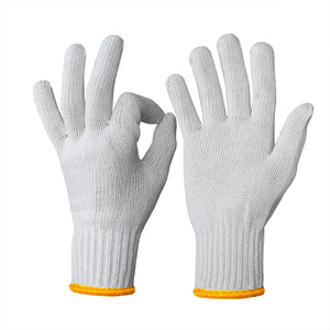 EvridWear 240 Pairs Pack Cotton Polyester String Knit Work Gloves