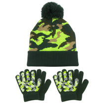 Load image into Gallery viewer, EvridWear Kids Children Boys Girls Magic Grip Winter Fall Gloves and Hat Set for Cool Cold Weather (2 Pairs Glove + 1 Hat)