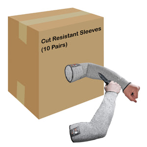 Evridwear 10 Pairs Cut Resistant Sleeves Without Thumb Hole-EvridWearUS