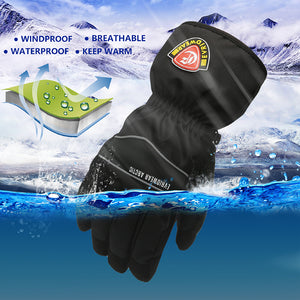 Evridwear Ski & Snowboard Winter Warm Gloves Waterproof for Cold Weather and Outdoor Sport