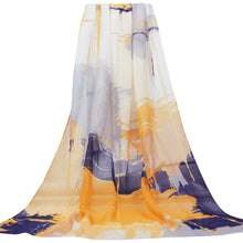 Load image into Gallery viewer, Women Lightweight Scarves Shawl Wraps with Floral Print for Spring Fall Holiday