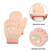 Load image into Gallery viewer, EvridWear 3 Combinations of Infant Thermal Warm Stretch Knitted Mittens, Toddlers Plain Soft Anti Scratch Winter Gloves for Kids (3 Pairs)