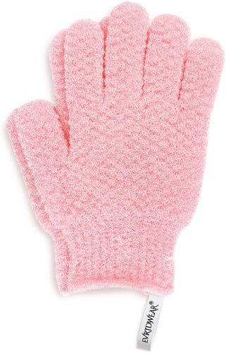 Evridwear Exfoliating Gloves for Bath, Shower Deep Cleaning Acne and Dead Skin Removal, Woman Girl Light Moderate or Heavy Level-EvridWearUS