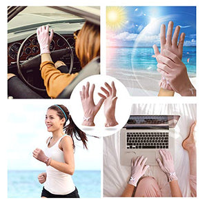 EvridWear 6 Pr/Pack Beauty Cotton Gloves with Touchscreen