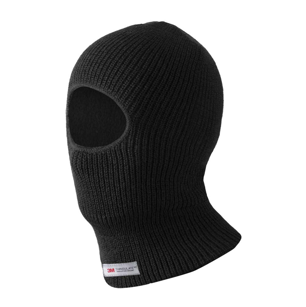 Evridwear 3M Thinsulate Thermal Acrylic Knit One Hole Balaclava, Winter Ski Neck Face Protection Mask, One Size