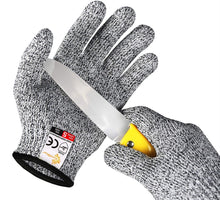 Load image into Gallery viewer, EVRIDWEAR Kids Sized Gray Cut Resistant Work Gloves