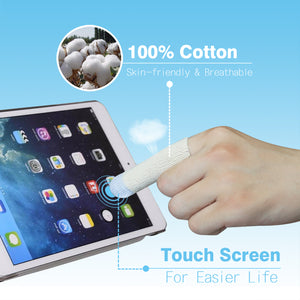 EvridWear 100 pcs Touch Screen Finger Cots(one size)