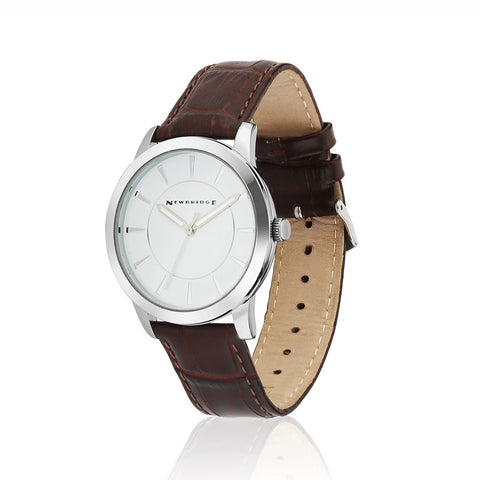 Buy Newbridge Silverware Mens Watch with Leather Strap online - Salmons Gifts, Ballinasloe, Galway, Ireland