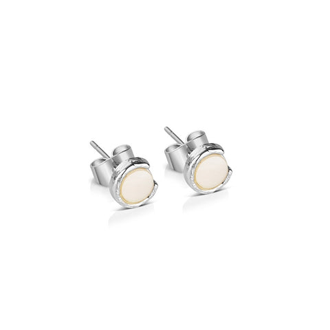 Buy Newbridge Silverware Silver Plated Earrings with Natural Shell Pearl online - Salmons Gifts, Ballinasloe, Galway, Ireland