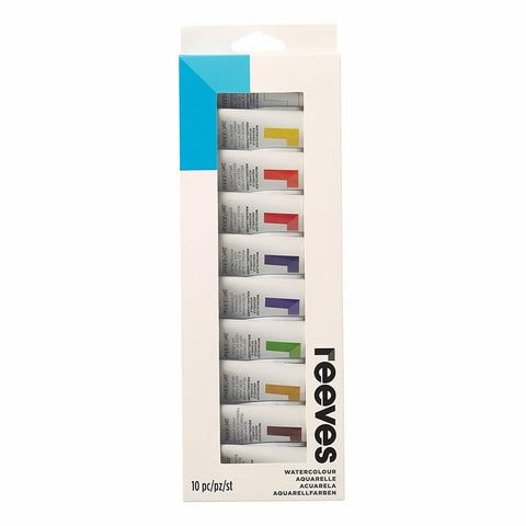 Reeves Watercolour Paint (12 x 10ml) - Salmons Art Supplies, Ballinasloe, Galway