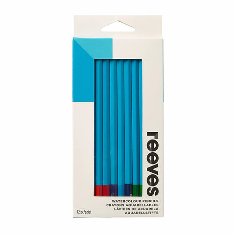 Reeves Watercolour Pencils (12 pk) - Salmons Art Supplies, Ballinasloe, Galway