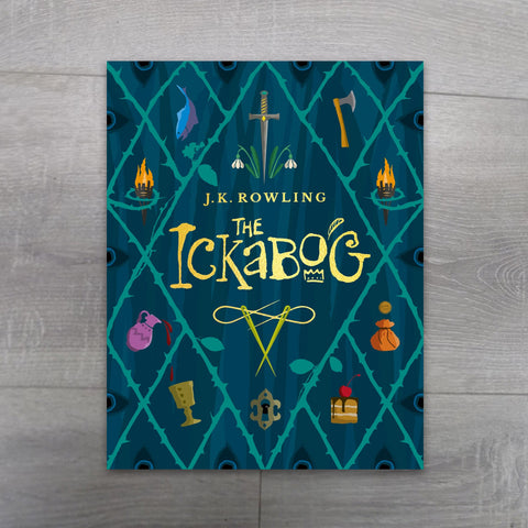 Buy The Ickabog JK Rowling book online - Salmons Books, Ballinasloe, Galway, Ireland