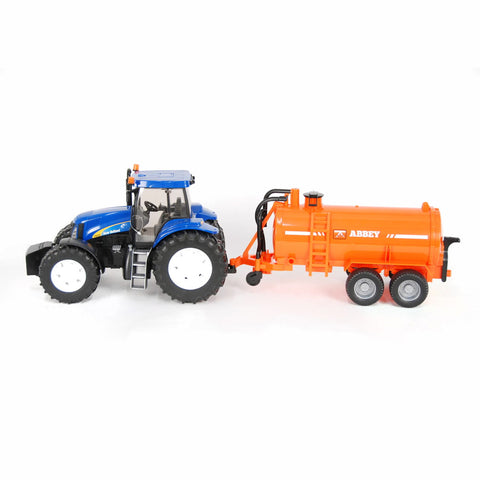 Bruder New Holland T8040 with Abbey Tanker - Salmons Toy Store, Ballinasloe, Galway