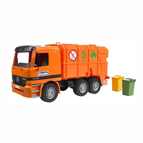 Bruder Mercedes Benz Actros Garbage Truck - Salmons Toy Store, Ballinasloe, Galway