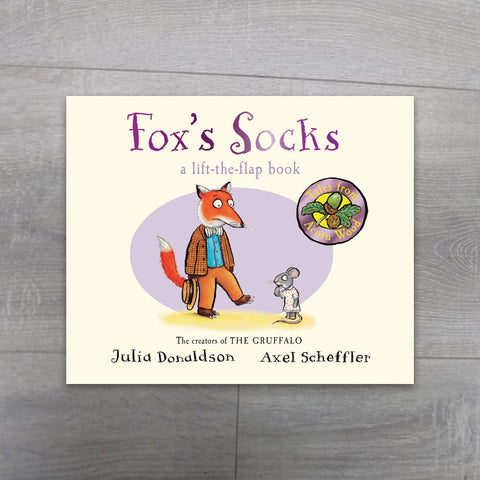 Buy Fox's Socks (Tales From Acorn Wood) Board book online | Salmons Department Store