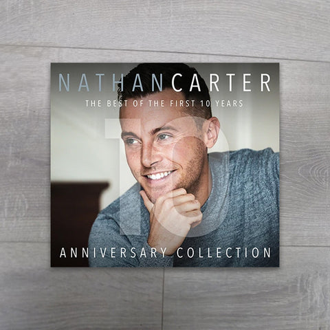 Buy The Best of the first 10 years - Nathan Carter CD - Salmons Gifts, Ballinasloe, Galway, Ireland