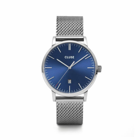 Buy Aravis Mesh Blue, Silver Colour watch online - Salmons Gifts, Ballinasloe, Galway, Ireland