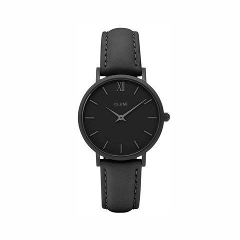 Buy Cluse Minuit Leather Watch online - Salmons Gifts, Ballinasloe, Galway, Ireland
