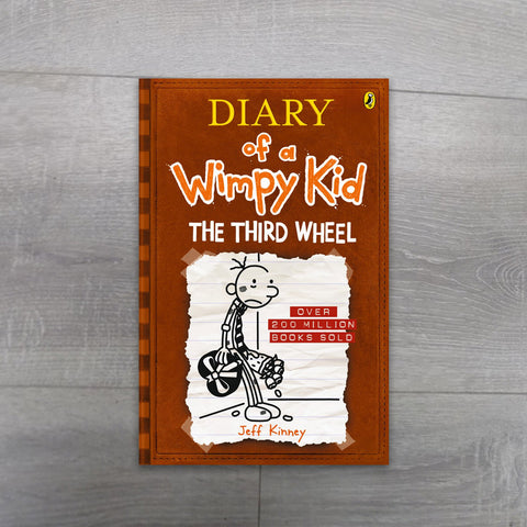 The Third Wheel - Diary of a Wimpy Kid - Salmons Book Store, Ballinasloe, Galway