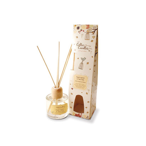 Celtic Candles Fragrance Diffuser 100ml – Fresh Lemon & Tea Tree - Salmons Department Store, Ballinasloe, Galway