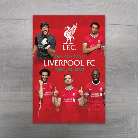 Liverpool FC Annual 2021 - Salmons Book Store, Ballinasloe, Galway