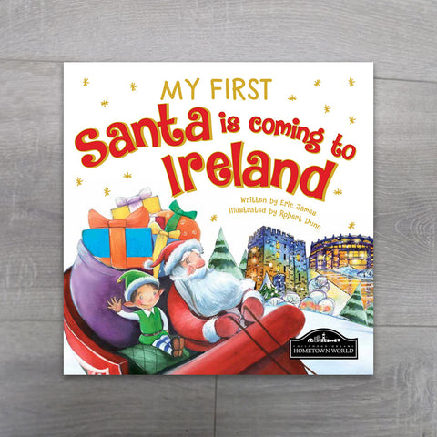 My First Santa is coming to Ireland - Salmons Online Book Store, Ballinasloe, Galway