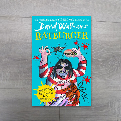 Ratburger David Walliams - Salmons Book Store, Ballinasloe, Galway