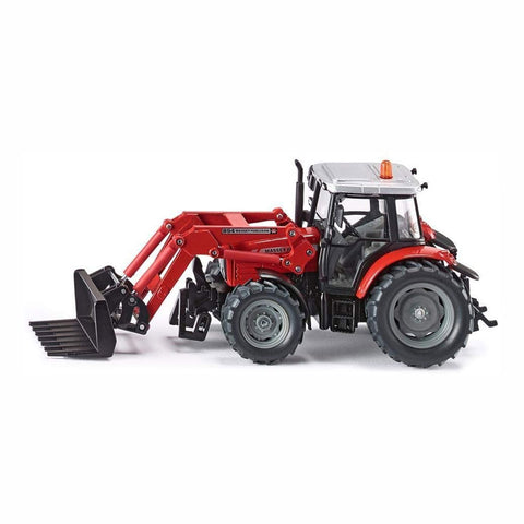 Siku Massey Ferguson Tractor with Front Loader - 3653 - Salmons Toy Store, Ballinasloe, Galway
