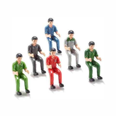 Siku Tractor Drivers (pack of 6) - 7071 - Salmons Toy Store, Ballinasloe, Galway